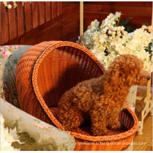 (BC-PK1010) High Quality Handmade PE Imitation Rattan Pet Kennel