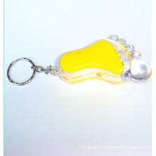 Lampe de porte-clés en plastique (KC-56)
