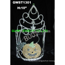BOO pumpkin ghost tiara crown