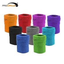 Fabrik preiswerte maßgeschneiderte Baumwolle absorbieren Handgelenk Schweißband