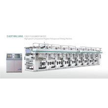 Machine professionnelle d'impression à gravure haute vitesse (130 m / min de vitesse)