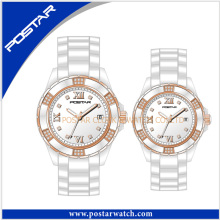 Fashion Simple and Classic Ceramic Watch for Couple Lover Watch