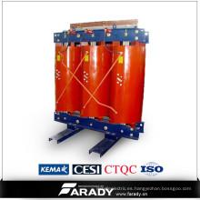 Potencia de frecuencia de colada de resina de energía eléctrica tipo seco transformador 160kva