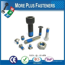 Made In Taiwan Screws and Bolts with Nylon Prelock Hilok Patch Tuflok