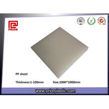 Vorheriges Plastik pp. Blatt mit natürlicher Farbe