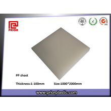 Prior Plastic PP Sheet with Natural Color