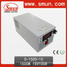 1500W Single Output Switching Power Supply (S-1500 With Selected Input)