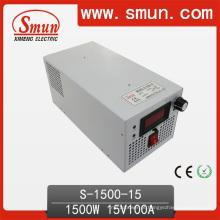 Fonte de alimentação de comutação única de 1500W (S-1500 com entrada selecionada)