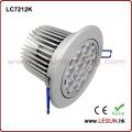 Encastré 12X1W / 12X3w LED Plafond Downlights