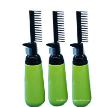 Professional Hair Coloring Dye DIY Hair Dyeing Bottle with Comb Applicator Hair Color Squeeze Bottle