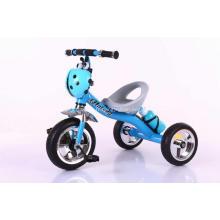 Tricycle de jouet d'enfant de couleur bleue
