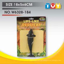 Presente de promoção de baleias de borracha de borracha macia para crianças