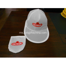 Promosi Foldable Polyester Caps W / Pouch