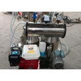 Cows and Goat Mobile Milking Machine with Both Electric and