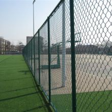 Commercial chain link fence used in sport ground