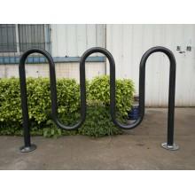 Стойка для велосипедов Стальная стойка для хранения велосипедов Стоянка для велосипедов