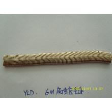 Low MOQ wholesale fashion metal flat snake chain