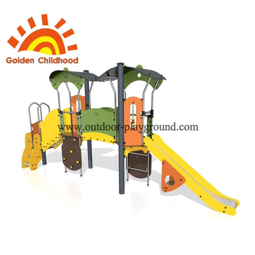 Rock climbing playground equipment