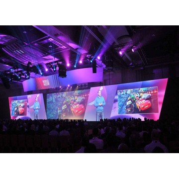 Lower Power Consumption Rental LED Display for Stage
