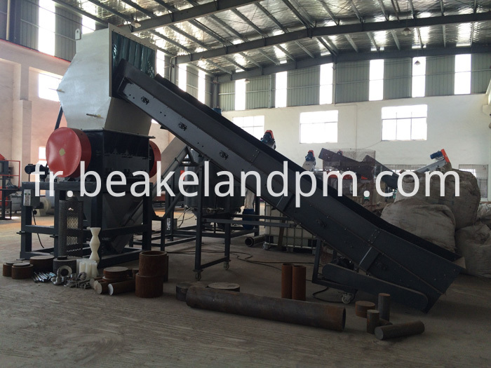 Hdpe Ldpe Film Bags Recycling Machine