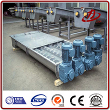 Flexible sand screw conveyor feeder