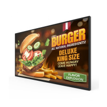 32 inch indoor ad machine wall mounted digital display for supermarket