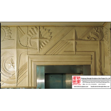 Style maison Metope Sculpture