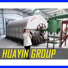 Maquinaria de refinería de biodiesel en modo continuo usando quemadores de aceite