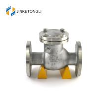 JKTLPC107 compresor de aire forjado control de flujo de acero válvula de retención de ajuste
