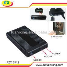 """Суперскоростной USB3.0 3.5 """"SATA HDD Enclosure"""