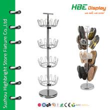 Suportes de sapato de metal giratório ajustáveis