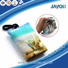 Sunglass Microfiber Wiping Cloth with Keychain