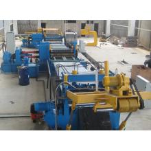 Máquina de linha de corte de bobina de aço de alta precisão
