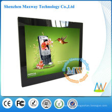Mirror frame 15 inch Android OS 4.4 digital photo frame with wifi