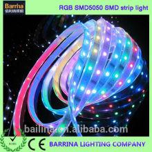 Haute tension CE RoHS 60LED MULCOLOUR LED ruban léger pour ourdoor