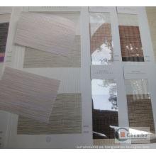 Tela textil para el hogar noche persianas