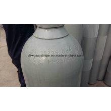 Cylindre de gaz d'oxyde nitreux d'ISO9809 40L, valve de Qf-2