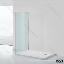 bandeja de chuveiro design italiano / chuveiro bandeja 120x60 / base de chuveiro de pedra sólida de alta qualidade