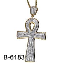 Новый дизайн Нас стиль Micro Настройка 925 Серебряный крест подвеска.