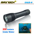 Maxtoch DI6X-4 Impermeable LED antorcha de buceo T6