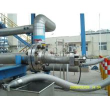 Pétrolier remplissage flexible métallique