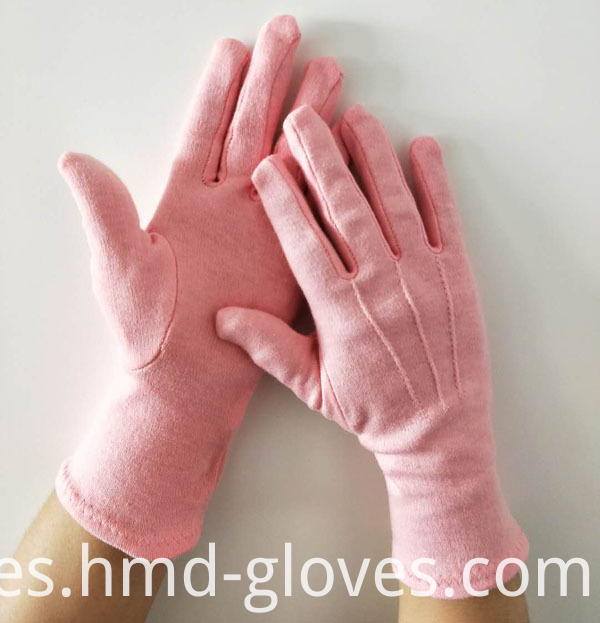 Pink Parade Glove With 3 Line
