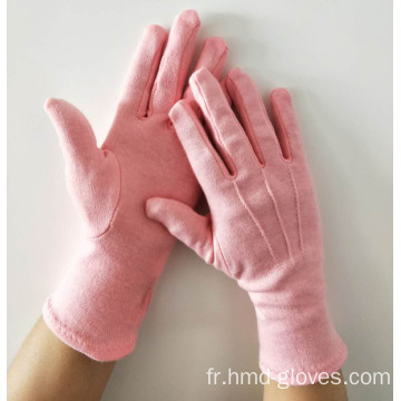 Fashional Ladies Gants De Coton Rouge