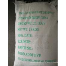 De grado farmacéutico DCP fosfato dicálcico dihidrato fabricante