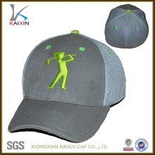 Flexfit hat athletic mesh plain baseball cap with embroidery logo