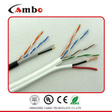 Cat6 2c Cable de red de alimentación