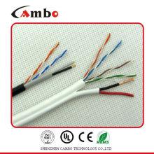 Cat6 2c Câble d'alimentation électrique
