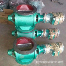 Square o round flanged impeller rotary valve