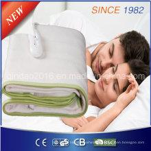 Couverture de massage électrique 220-240V en polyester avec indicateur numérique LED