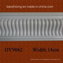 Weiß Farbe Basic PU Cornice PU Molding